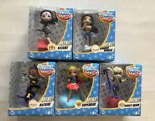 5X DC Mini Super Hero Girls Figures Supergirl,Batgirl,Supergirl,Wonder Woman,Har