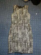 H&M Black And White Dress. Size 10. Eur 38.