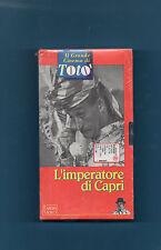 IL GRANDE CINEMA DI TOTO' - VHS - L'IMPERATORE DI CAPRI - SIGILLATO
