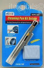 Universal Lens Pen Cleaning Cleaner kit For Camera Lenses Filter + Micro Fiber