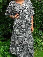 womens black white wakanda tribal dashiki  fancy dress summer kaftan