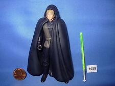 """Star Wars 1996 LUKE SKYWALKER JEDI KNIGHT BROWN VEST POTF 3.75"""" Figure COMPLETE"""