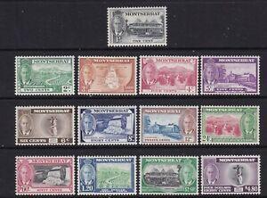 Montserrat - SG 123/35 - l/m - 1951 - 1c - $4.80 - K.G.Vl
