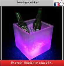 Seau à glace glaçon champagne à led Ice bucket led seaux