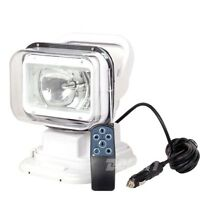 55W 12V HID Xenon Search Work Light 360º Spot Beam Magnetic Remote Control Boat