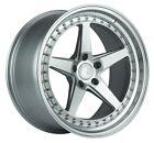 Aodhan Ds05 19x9.5 15 5x114.3 Silver Wheels Fit Infiniti Q50 G35 G37 S Brembo
