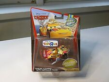 NEW DISNEY PIXAR CARS 2 MIGUEL CAMINO SPECIAL DECO DIECAST VEHICLE NEW ON CARD
