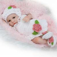 Lifelike Reborn Baby Doll 26cm Newborn Doll Kids Girl Playmate Birthday Gift W