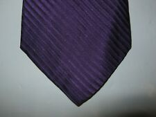 Croft & Barrow SILK Tie Necktie 56 x 3.25 purple 14237