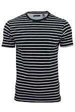"""Homme T-shirt rayé par Brave Soul 'nureaf """"à manches courtes"""