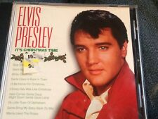 Elvis Presley : Its Christmas Time Cd Htf