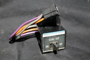71 72 73 Cadillac Eldorado Dash Convertible Top Switch