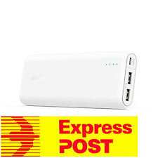 Anker Powercore 20100mAh External Battery-FREE Express Post-18 Mth WarrantyWhite