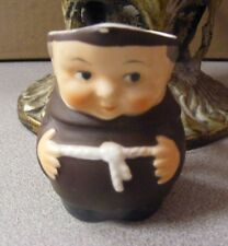 """Goebel *Monk/Friar*Small 2 1/2"""" Tall Pitcher - Marked S141 2/0 - Vintage"""