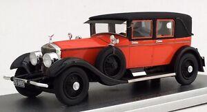 Kess Models 1926 Rolls Royce Silver Ghost Tilbury Sedan by Willoughby. Orange/Bl