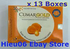13 Boxes CumarGOLD - NANO CURCUMIN - Anti Inflammatory & Pain Reliever