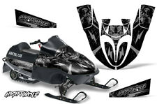 Arctic Cat Sno Pro 120 Sled Wrap Snowmobile Decal Graphics Kit 09-13 NIGHTWOLF S