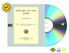 History of the Jews 6 Volume Complete by Graetz, Heinrich, 1817-1891 Books On CD