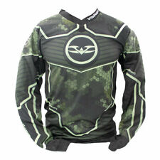 New Valken Fate GFX Paintball Playing Jersey  3D Cube Olive Green - 3X-Large 3XL