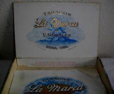 CAJA  DE  PUROS HABANOS  LA MARCA  (VACIA/ COLECC) EPOC-PREBL