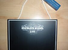 BNWT Primark Harry Potter Hogwarts School List chalk board