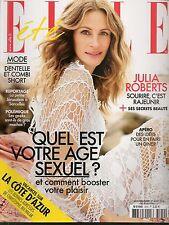 ELLE N° 3579--INTERVIEW JULIA ROBERTS/LES GEEKS MACHOS/QUEL EST L'AGE SEXUEL