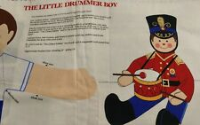 Two The Little Drummer Boy Doll Fabric Patterns
