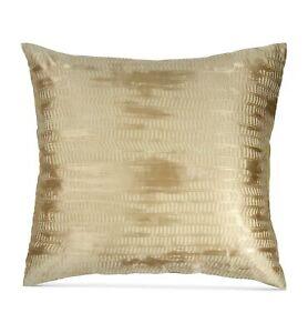 Donna Karan Home EURO Pillow Sham Vapor GOLD DUST 258