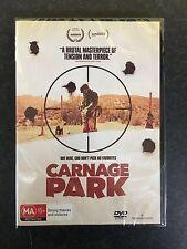 Carnage Park brand NEW/sealed region 4 DVD (2016 thriller movie)