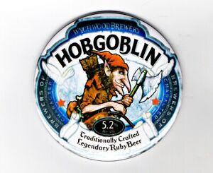 """Hobgoblin Wychwood Fridge Magnet Beer Mat Bar Ale 3"""" 75mm Blade  Sub lager ruby"""