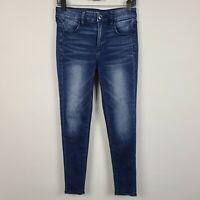 American Eagle Super Stretch Hi Rise Jegging Womens Dark Wash Jeans Size 4