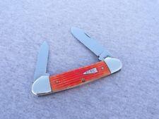CASE XX # TANGERINE BONE ARROW SHIELD CANOE KNIFE KNIVES