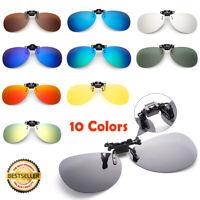 UV 400 Überbrille Aufsatz Clip on Sonnenbrillenaufsatz polarisiert Hochklappbar