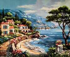 Gobelin Tapestry Needlepoint Kit Landscape hand embroidery printed canvas 519
