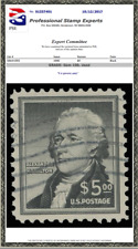 #1053, $5 Hamilton, Used PSE Graded 100, Cert # 01337401