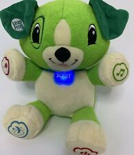 Leap Frog My Pal Scout Speaking Interactive Educational Puppy Toy Plush Dog