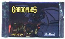 BOOSTER de cartes du dessin animé : - GARGOYLES -