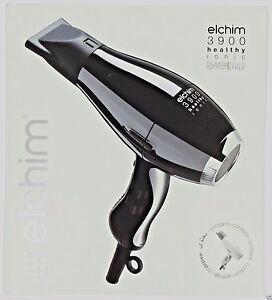 ELCHIM 3900 HEALTHY IONIC DRYER WHITE 2000W 2400W VALID LIFETIME WARRANTY  ITALY