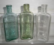 Lovely Trio of Old Medicine Bottles - Veno'S Lightning Cough Cure - 3 Different
