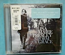 LISA MARIE PRESLEY Storm & and Grace DELUXE EDITION CD sealed with hype sticker