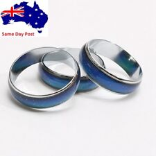 Fashion Titanium Steel Mood Rings Temperature Emotion Feeling Engagement Rings