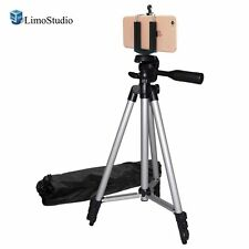 """LimoStudio Digital Photography 50"""" Camera Camcorder Tripod with Deluxe Tripod"""