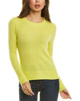 White + Warren Puffed Cashmere Sweater Women's