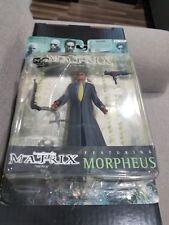 """MORPHEUS The Matrix 1999 WB 6"""" Action Figure -- NEW"""