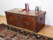Antik Orient madera arcón Antique Islamic Omani Wooden Storage chest 18/19.jhd n-f