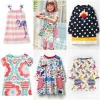 NEW MINI BODEN GIRLS TUNIC DRESS TOP COTTON JERSEY ANIMAL FLAMINGO SPOT AGE 1-12
