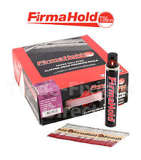 Collated Nails 1st Fix Firmahold Galv 63mm x 2.8  Paslode,Quickload, NailFire.