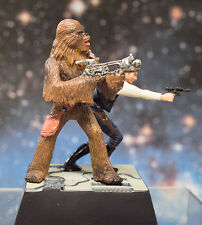 Star Wars Figure Toy - HAN & CHEWBACCA DIORAMA (TOMY)