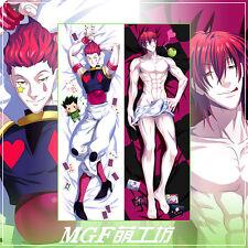 Anime Hunter X Hunter Hisoka Pillow Case Cover Hugging Body cosplay 2