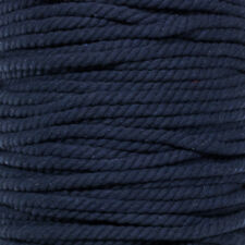 """Twisted Cotton Rope - 5/8"""", 3/8"""", 3/4"""", and 1"""" Diameters - 4 Colors - 10-100ft"""